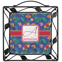Parrots & Toucans Trivet (Personalized)