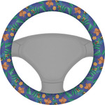 Parrots & Toucans Steering Wheel Cover (Personalized)