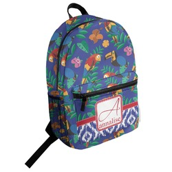 Parrots & Toucans Student Backpack (Personalized)