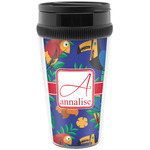 Parrots & Toucans Travel Mug (Personalized)