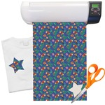 "Parrots & Toucans Heat Transfer Vinyl Sheet (12""x18"")"