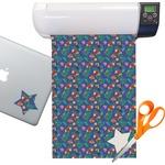 Parrots & Toucans Sticker Vinyl Sheet (Permanent)