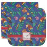 Parrots & Toucans Facecloth / Wash Cloth (Personalized)