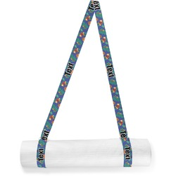 Parrots & Toucans Yoga Mat Strap (Personalized)