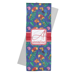Parrots & Toucans Yoga Mat Towel (Personalized)
