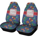 Parrots & Toucans Car Seat Covers (Set of Two) (Personalized)