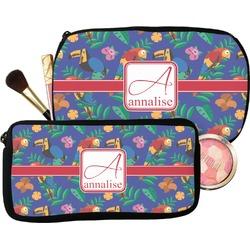 Parrots & Toucans Makeup / Cosmetic Bag (Personalized)