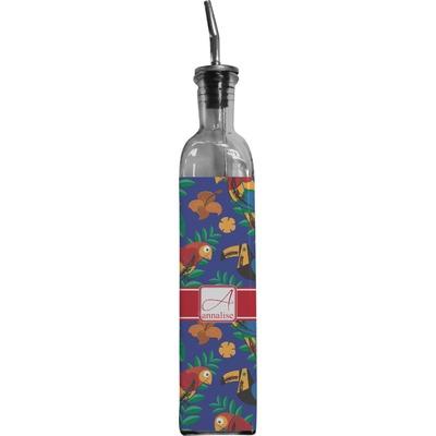 Parrots & Toucans Oil Dispenser Bottle (Personalized)