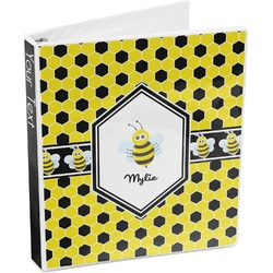 Honeycomb 3-Ring Binder (Personalized)