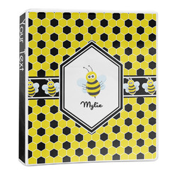 Honeycomb 3-Ring Binder - 1 inch (Personalized)