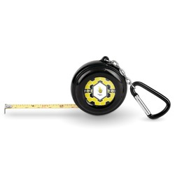 Honeycomb Pocket Tape Measure - 6 Ft w/ Carabiner Clip (Personalized)