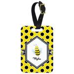 Honeycomb Aluminum Luggage Tag (Personalized)