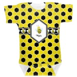 Honeycomb Baby Bodysuit (Personalized)