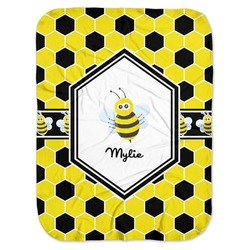 Honeycomb Baby Swaddling Blanket (Personalized)