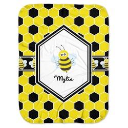 Honeycomb Baby Swaddling Blanket (Personalized)