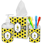 Honeycomb Bathroom Accessories Set (Personalized)