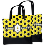 Honeycomb Beach Tote Bag (Personalized)