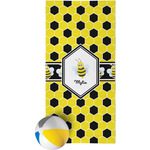 Honeycomb Beach Towel (Personalized)