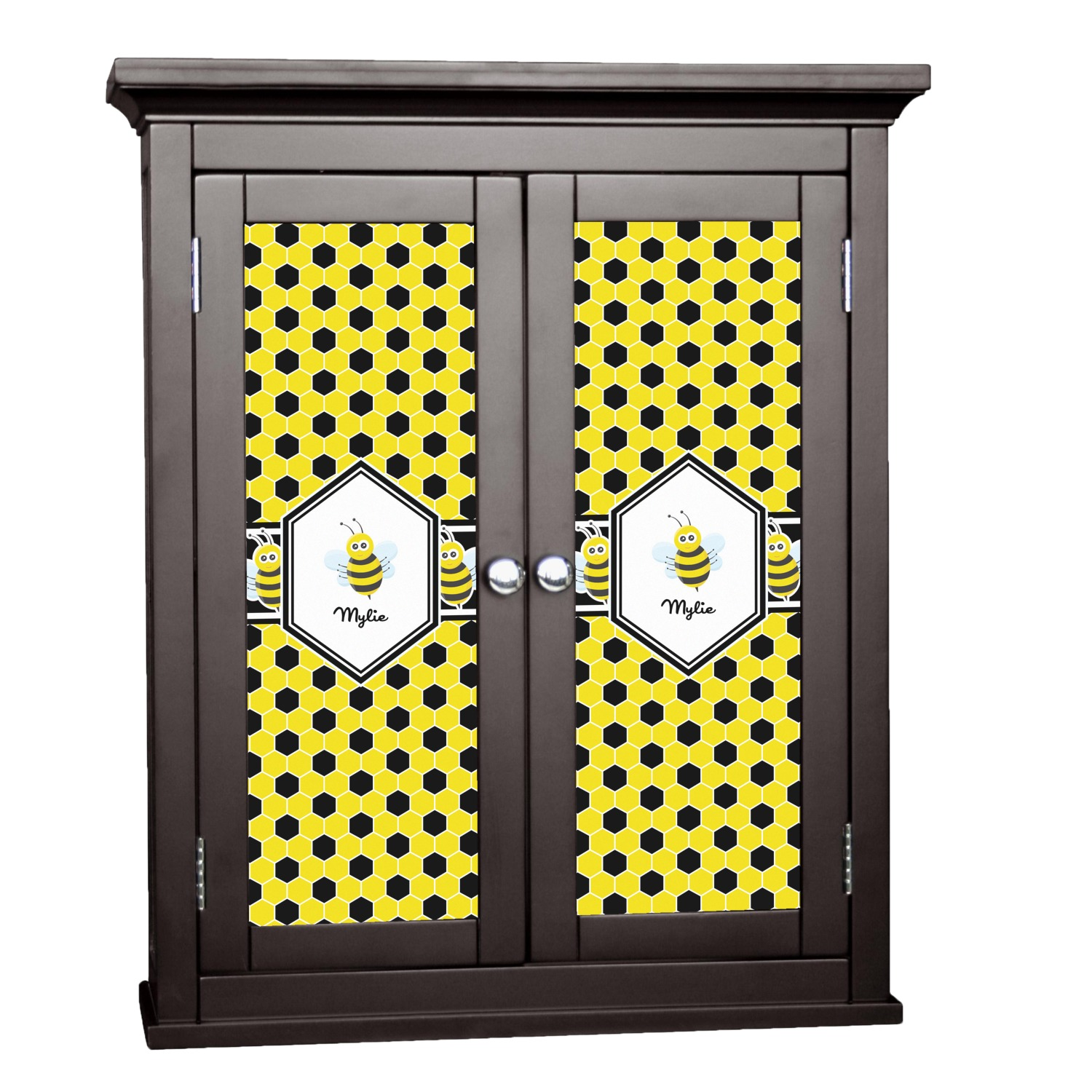 Honeycomb Cabinet Decal - Medium (Personalized ...