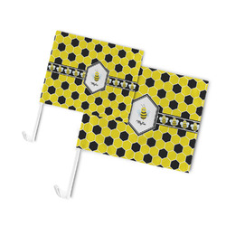 Honeycomb Car Flag (Personalized)