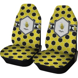 Honeycomb Car Seat Covers (Set of Two) (Personalized)