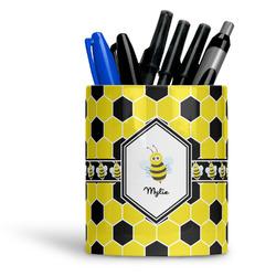 Honeycomb Ceramic Pen Holder