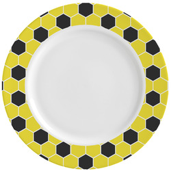 Honeycomb Ceramic Dinner Plates (Set of 4) (Personalized)