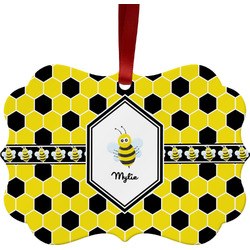 Honeycomb Ornament (Personalized)
