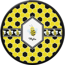Honeycomb Round Trailer Hitch Cover (Personalized)