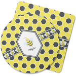 Honeycomb Rubber Backed Coaster (Personalized)