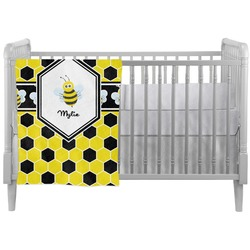 Honeycomb Crib Comforter / Quilt (Personalized)
