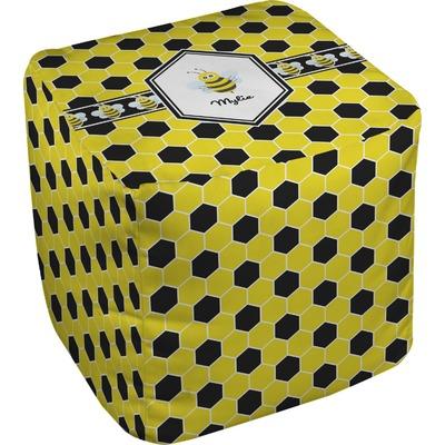 Honeycomb Cube Pouf Ottoman (Personalized)