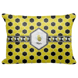 "Honeycomb Decorative Baby Pillowcase - 16""x12"" (Personalized)"