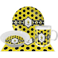 Honeycomb Dinner Set - 4 Pc (Personalized)