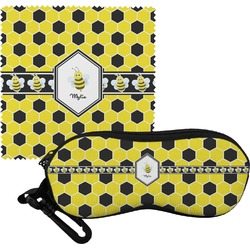 Honeycomb Eyeglass Case & Cloth (Personalized)