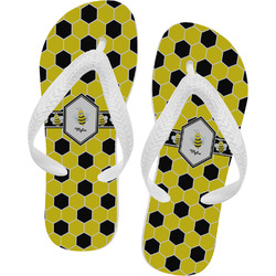 Honeycomb Flip Flops (Personalized)