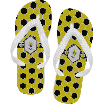 Honeycomb Flip Flops (Personalized)