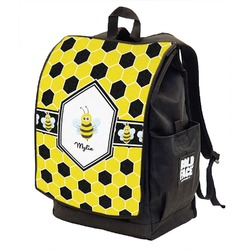 Honeycomb Backpack w/ Front Flap  (Personalized)