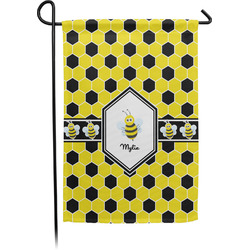 Honeycomb Garden Flag (Personalized)