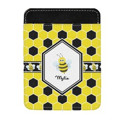 Honeycomb Genuine Leather Money Clip (Personalized)