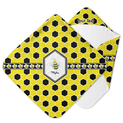 Honeycomb Hooded Baby Towel (Personalized)