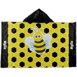 Honeycomb Kids Hooded Towel (Personalized)