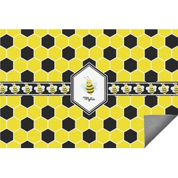 Honeycomb Indoor / Outdoor Rug - 6'x9' (Personalized)
