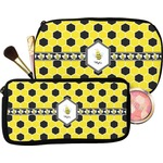 Honeycomb Makeup / Cosmetic Bag (Personalized)