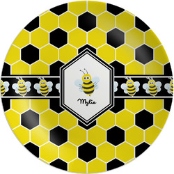 Honeycomb Melamine Plate (Personalized)
