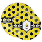 Honeycomb Melamine Plate (Personalized)