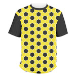 Honeycomb Men's Crew T-Shirt (Personalized)