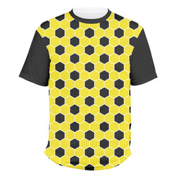 Honeycomb Men's Crew T-Shirt (Personalized)
