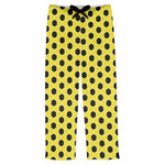 Honeycomb Mens Pajama Pants (Personalized)