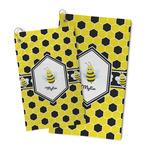 Honeycomb Microfiber Golf Towel (Personalized)